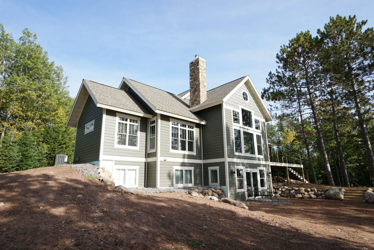 Vilas County Custom Lake Home