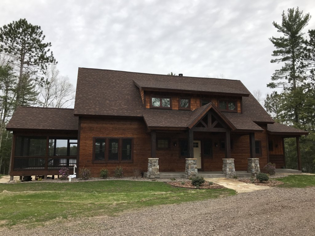 Northwoods, WI custom lake home