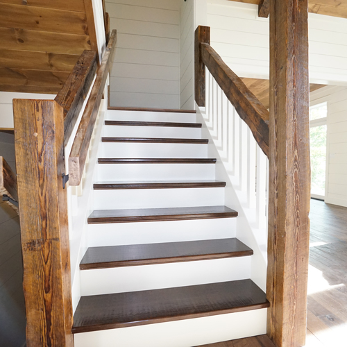 lake--home--custom--reclaimed--staircase-1