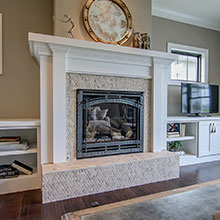 Parade of Homes - Fireplace 1 - Madison WI