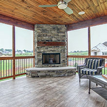 Parade of Homes - Screen Porch 1 - Madison WI